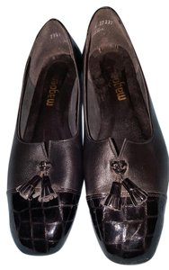 California Magdesians Patent Leather Leather Uppers Man-made Material Stylish Black Pumps