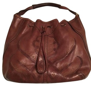 Cole Haan Leather Tote Hobo Bag