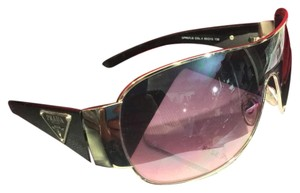 Prada Prada Large Triangle Logo Ladoes Sunglasses!