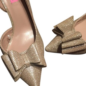 Betsey Johnson Metallic Champagne gold Formal