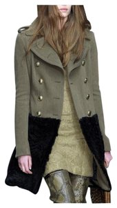 Burberry Prorsum Chanel Tory Burch Fur Coat