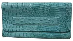 JJ Winters Turquoise Clutch