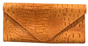 JJ Winters Orange Clutch