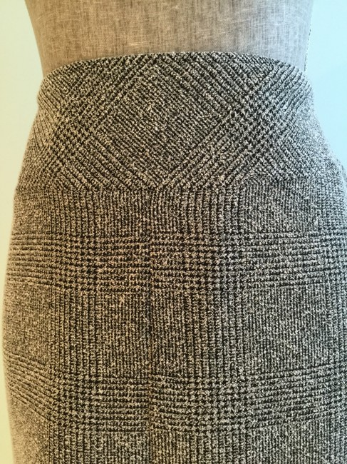 Other Size Small Pencil Size 6 Size 6 Size 6 Pencil Skirt Black/Beige Image 2