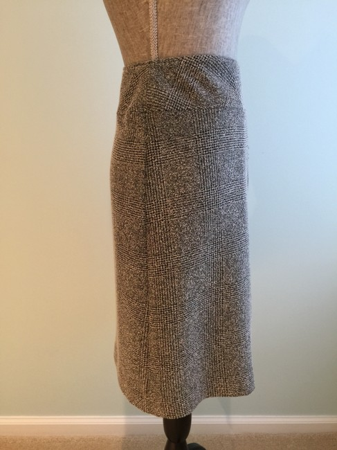 Other Size Small Pencil Size 6 Size 6 Size 6 Pencil Skirt Black/Beige Image 3