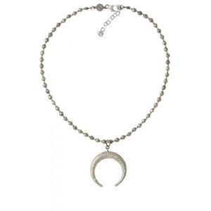 Other Bettina Duncan By Calypso Diamond Moon Pendant Necklace Like New