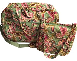 Vera Bradley Multi color mint green Travel Bag