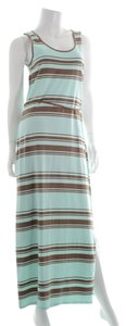 Brown/Green Maxi Dress by Toad&Co