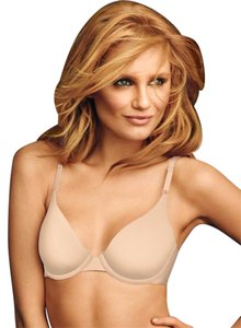 Maidenform One Fabulous Fit Demi Underwire T-shirt Bra #7959, Gray, Sz 36C