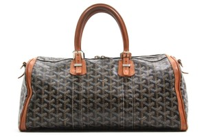 Goyard Croiseire Black Travel Bag