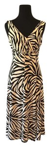 Evan Picone Animal Print Dress