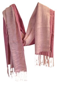 Other Pink Scarf Reversibile Fringes