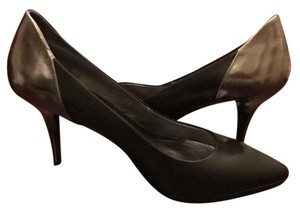 DKNY Black/silver metallic Pumps