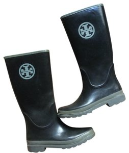 Tory Burch Black/grey Boots