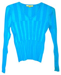 Long Sleeve Knit Top V-neck V-neck Sweater