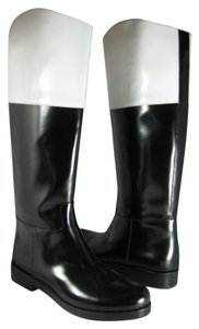 Michael Kors Collection black/ white Boots