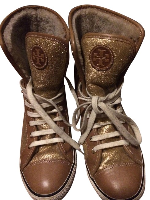 Item - Sahara /Beige/Metallic/Gold 262 High Top Benjamin Sneakers Size US 8 Regular (M, B)