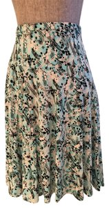 Other Summer Size Small Size 6 Flair Skirt Aqua/White/Black