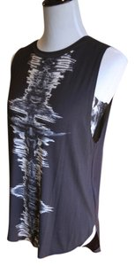 Haute Hippie Top Black/White/Gray