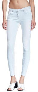 3X1 Blue Seam Skinny Jeans-Light Wash
