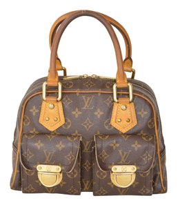 Louis Vuitton Lv Manhattan Pm Manhattan Pm Satchel in Brown
