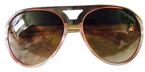 Tory Burch Tory Burch Oversized Aviator Ladies Sunglasses