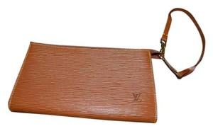 Louis Vuitton Lv Pouchette Makeup Wristlet in Camel (Brown)