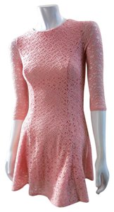 Forever 21 short dress Pink Open Back Stretchy Mini on Tradesy