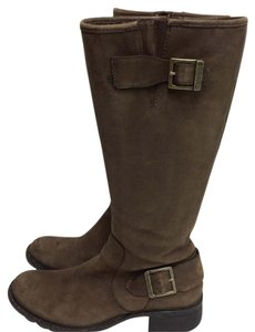 Black Friday Sale -Timberland Knee High Boots Brown Boots