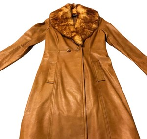 Arden B. Caramel Leather Jacket