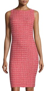St. John Tweed Sleeveless Dress