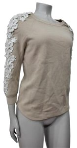J.Crew Collection Applique Flower Sweater