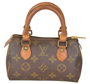 Louis Vuitton Lv Mini Speedy Mini Speedy Satchel in Brown
