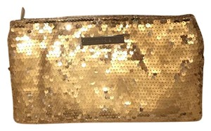 BCBGeneration Gold Clutch