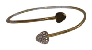 Forever 21 Gold Heart Bangle