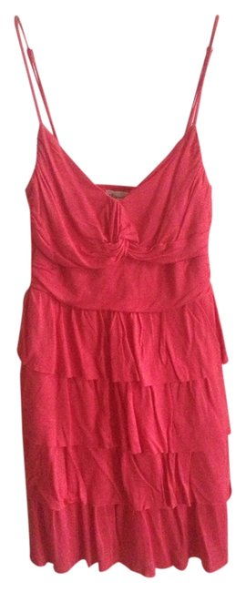 Dynamite short dress Red Frills Summer Knot on Tradesy