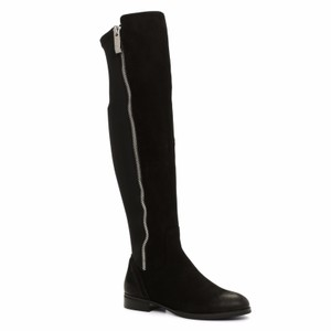 ALDO Dyna Stretch Over The Knee Black Boots