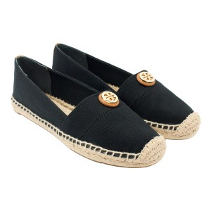 Tory Burch 35060 Black/Black/Tan Flats