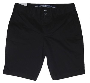 Gap Bermuda Cotton Bermuda Shorts Black