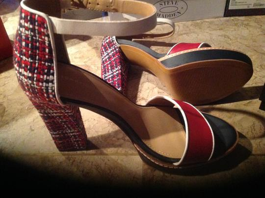 Tommy Hilfiger Red/White/Blue Sandals
