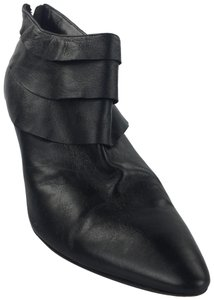 Moschino Pointy Black Boots