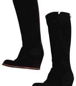 Kate Spade Black suede Boots