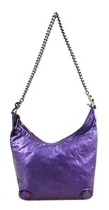 Gucci Metallic Leather Galaxy Chain Strap Hobo Bag