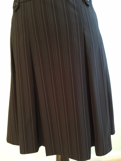 Other Pleated Size Small Size 6 Size 6 Skirt Black