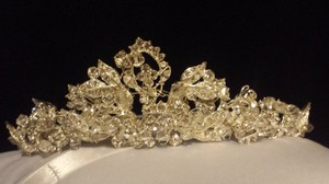 Bridal Sparkling Diamond Tiara