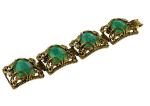 Other Suffragette Multi-Stone Panel Bracelet