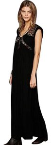 Black Maxi Dress by Free People Sexy Homecoming Prom Bohemian