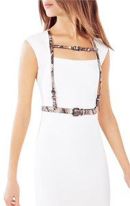 BCBGMAXAZRIA BCBG Python Faux-Leather Harness M/L