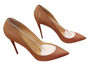 Christian Louboutin Pigalle Stiletto Nude Pumps