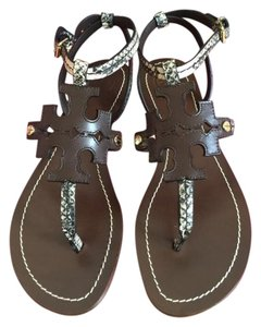 Tory Burch BLACK-IVORY/ COCONUT Sandals